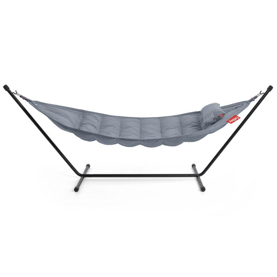 En produktbild på Fatboy Headdemock Sunbrella i färgen Steel blue.