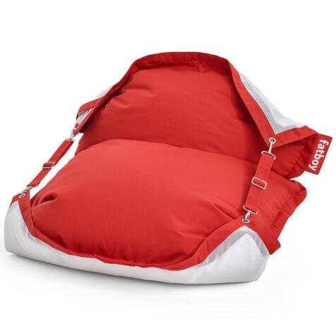 Produktbild på Fatboys Floatzac i färgen Red.