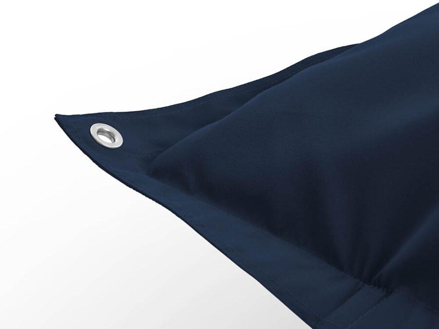 Närbild på Fatboys Floatzac Navy blue.