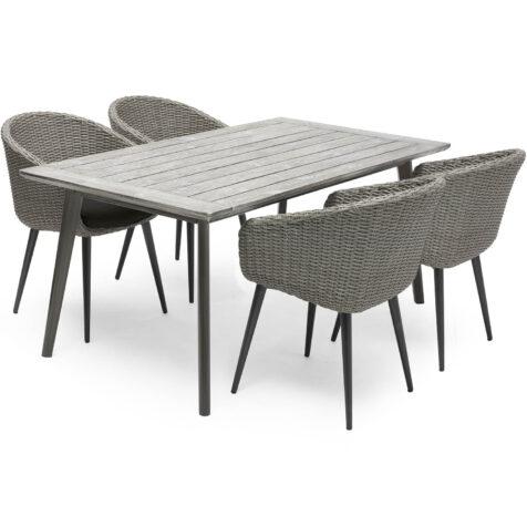 Valletta matgrupp från Hillerstorp med 4 stycken stolar.