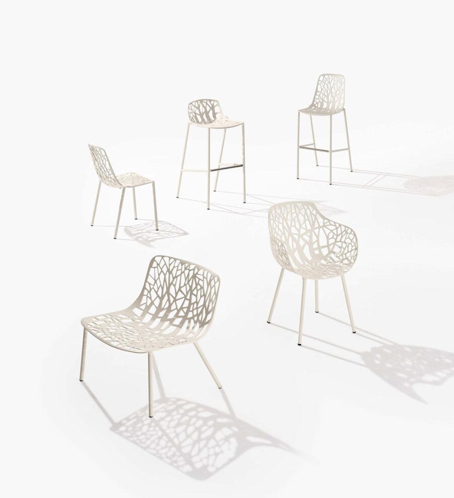 Forest möbler i vitt från FAST.