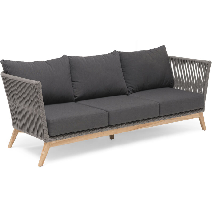Produktbild på Himmelsnäs soffa i grått från Hillerstorp.