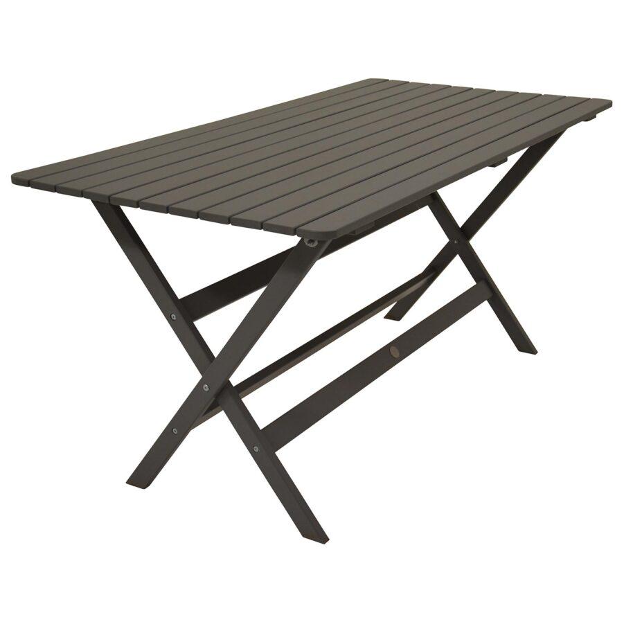 Slite matbord i grå gotlandsfura.