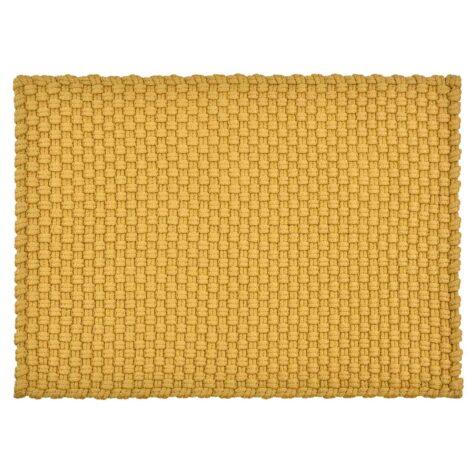 Uni utomhusmatta i gult från PAD Concept.
