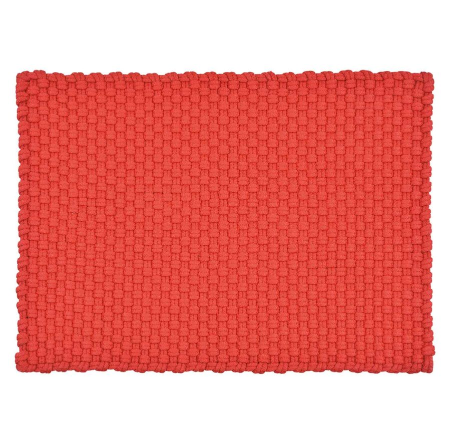 Uni utomhusmatta i rött från PAD Concept.