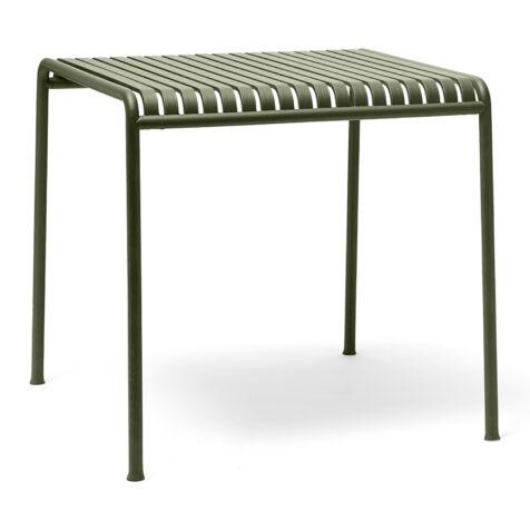 Olivgrönt matbord från Hay i pulverlackat dtål.