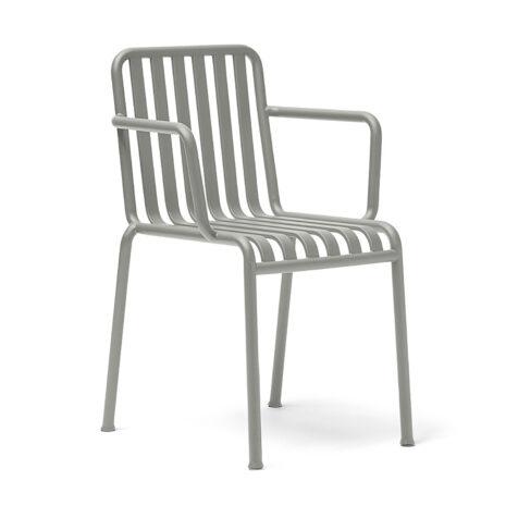 Karmstolen palissade i ljusgrått från Hay.