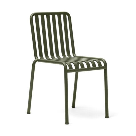 Palissade stol i färgen olivgrön.