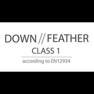 Down / Feather class 1 märkning - Carpe Diem