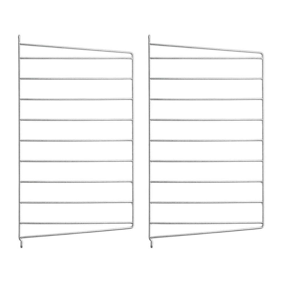 Två stycken String väggalvlar med djupet 30 cm.