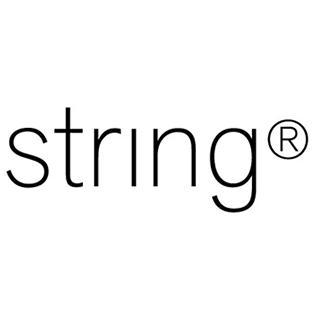 Logotyp för varumärket String.
