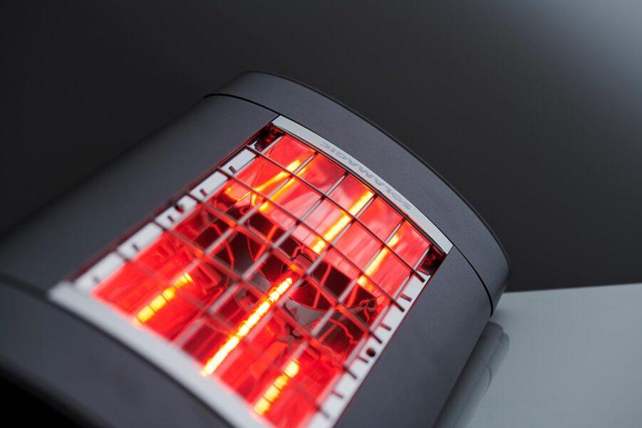 Detaljbild på Solamagic värmelampa i Premium serien.