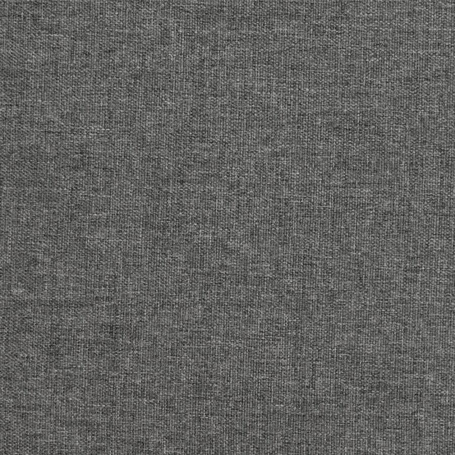 Detaljbild på Bara Vara dyna i grå polyester.