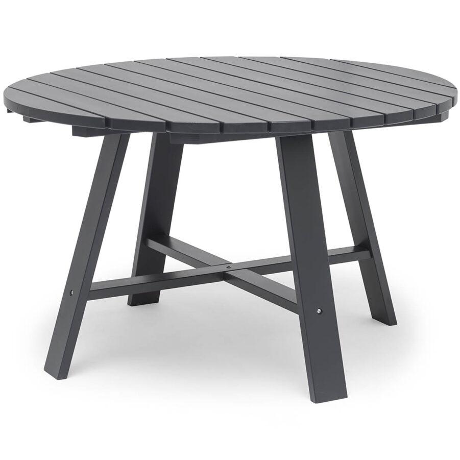 Läckö matbord i färgen orkangrå från Hillersttorp.