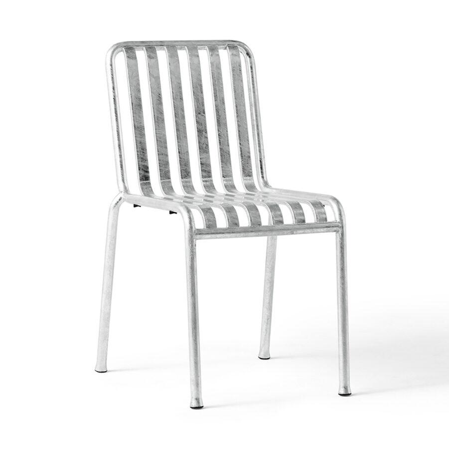 Palissade stol från Hay i galvaniserad stål.