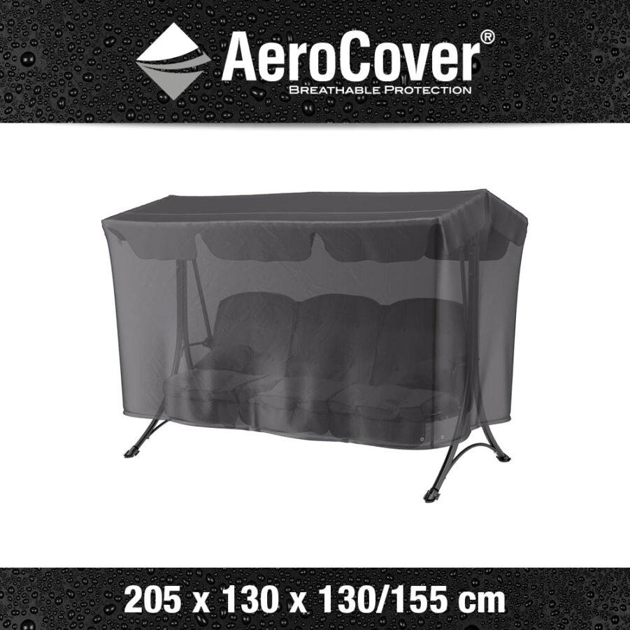 Bild med mått på Aerocover hammockskydd.