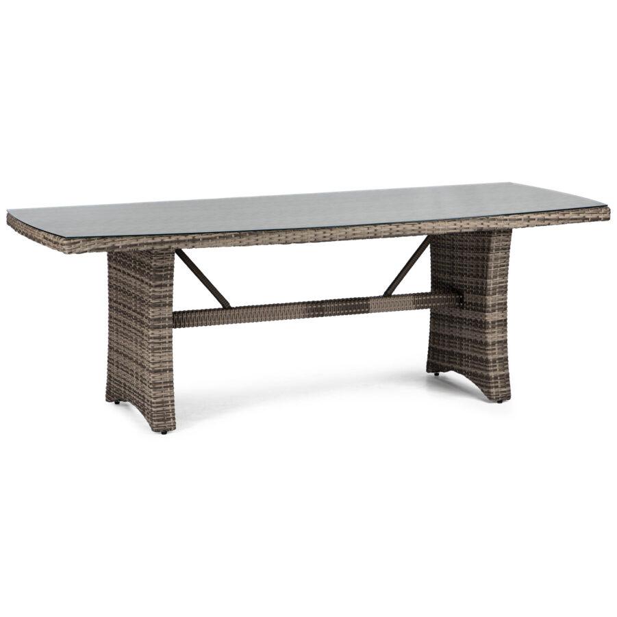 Hampton bord i ljusgrå från Atleve.