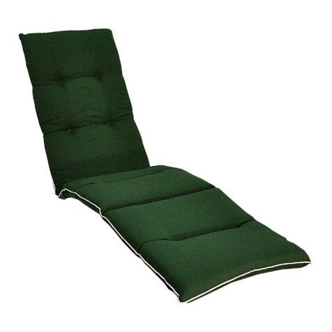 Grön fiberdäckstolsdyna från Fritab.