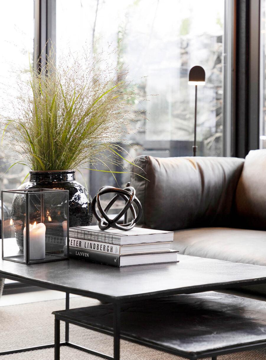 Artwood Mille soffbord 2-set svart