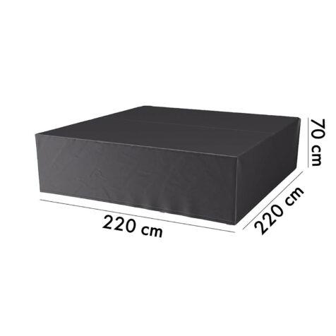 Aerocover möbelskydd, 220x220 cm höjd 70 cm