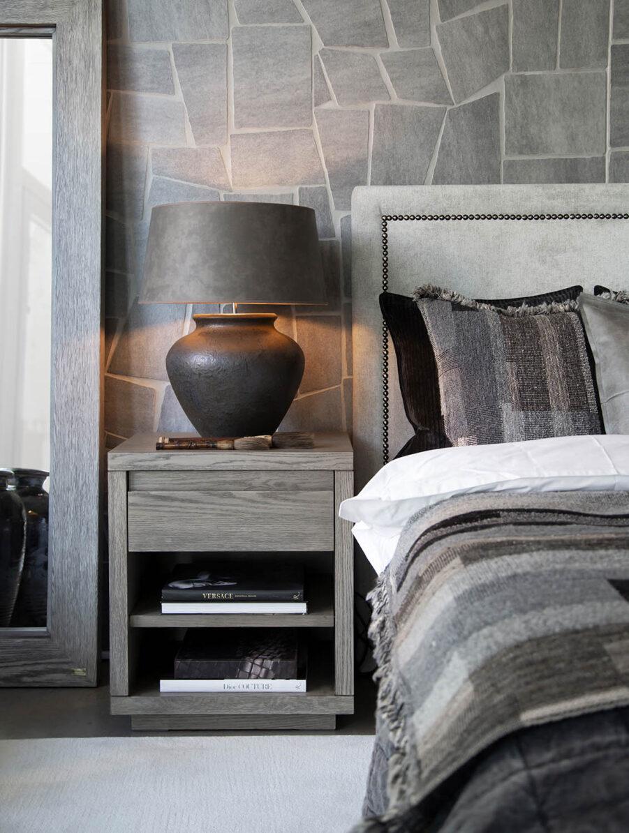 Miljöbild Paris sänggavel från artwood