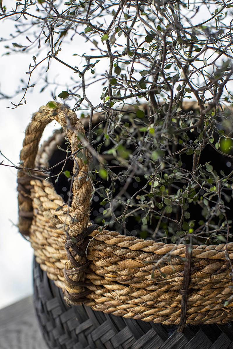 Miljöbild Davao korg från artwood
