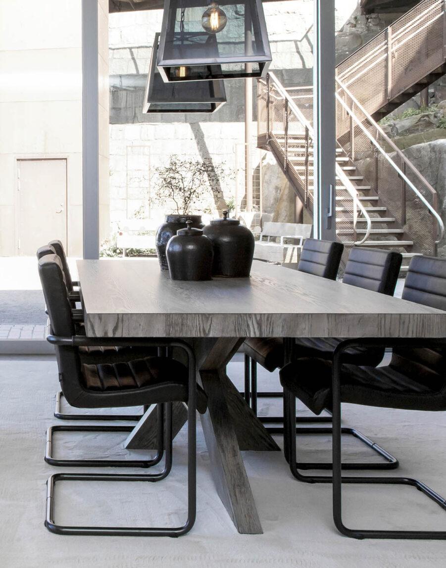 Miljöbild hunter bord, sabina karmstol från artwood