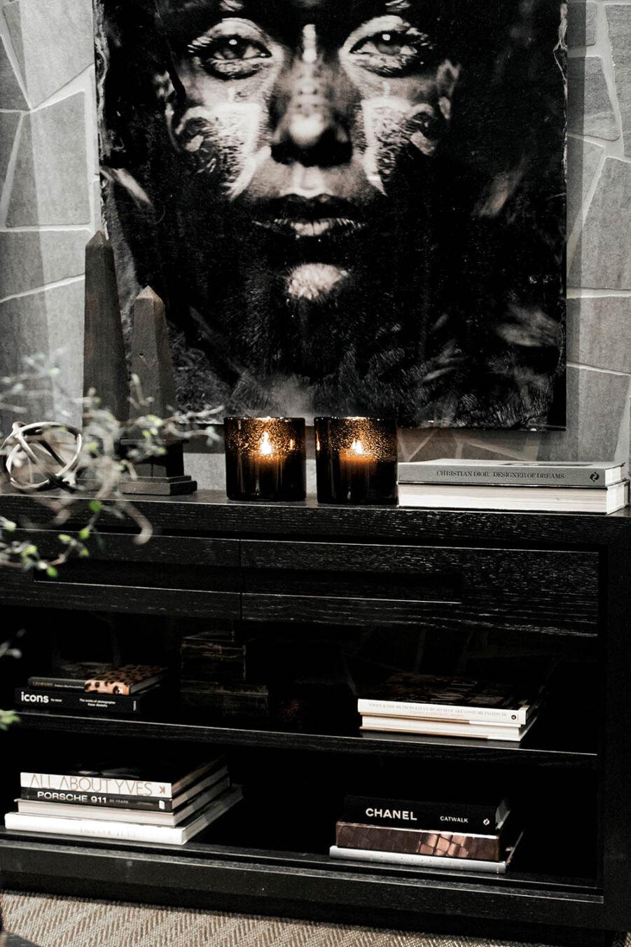 Hunter konsolbord från artwood svart