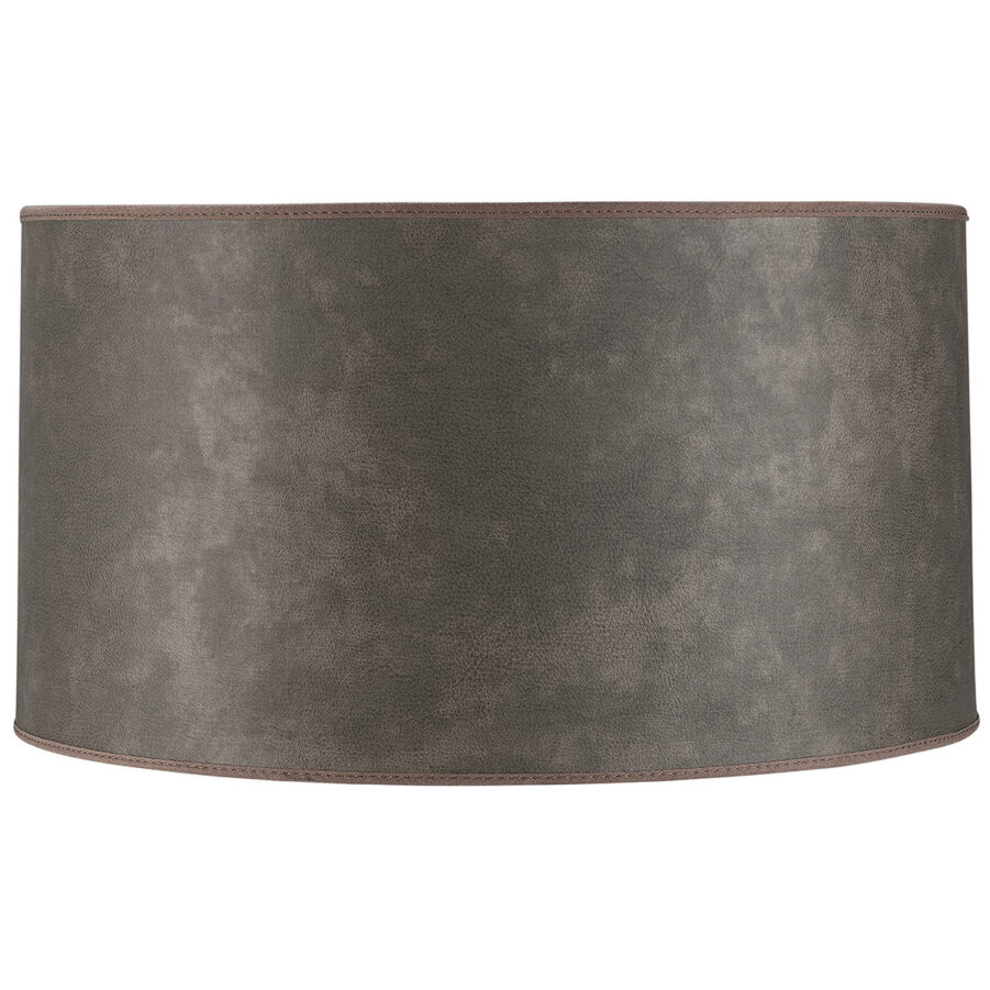 Cylinder lampskärm från artwood leather taupe