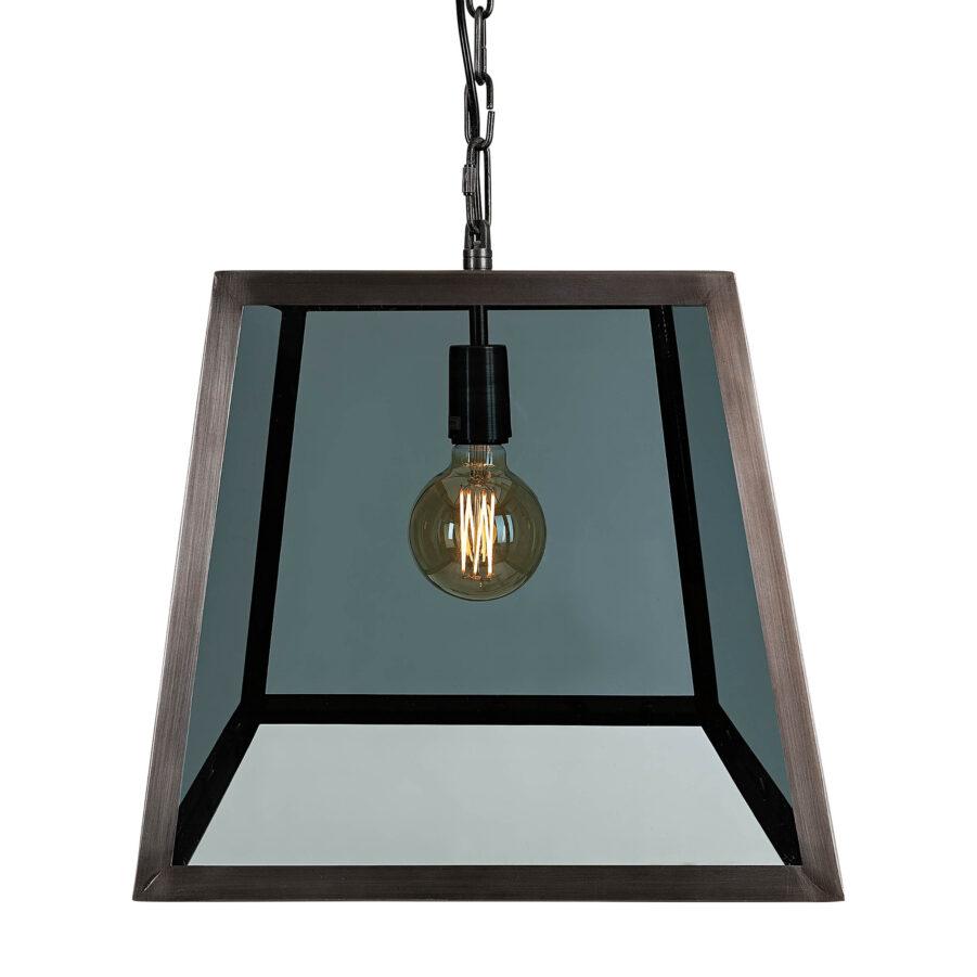City smokey glass taklampa från artwood