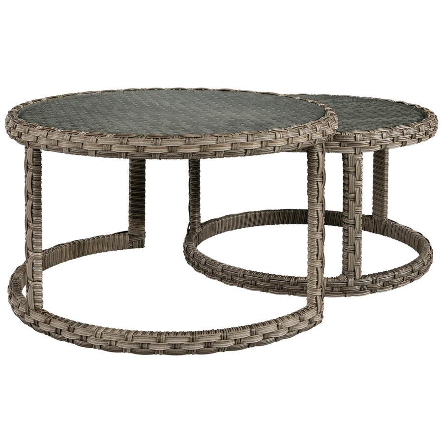 Toledo soffbord från artwood klassisk grå