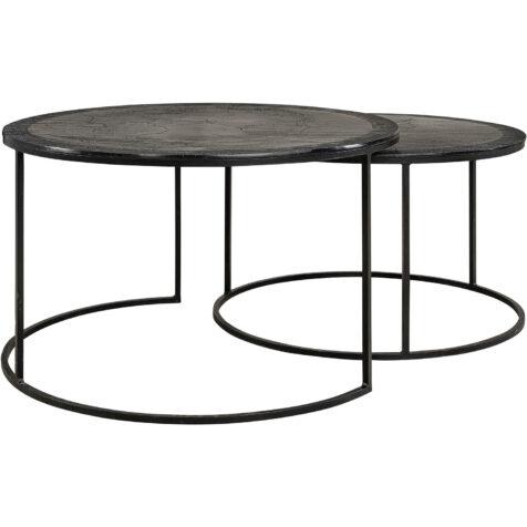 Amadeo soffbord från artwood i färgen svart