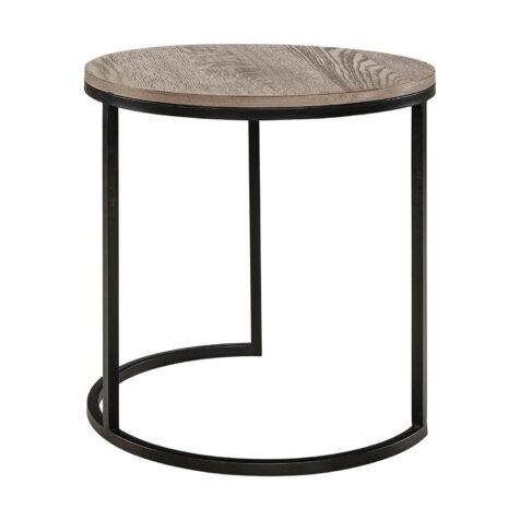 Mason sidobord från artwood i färgen antikgrå