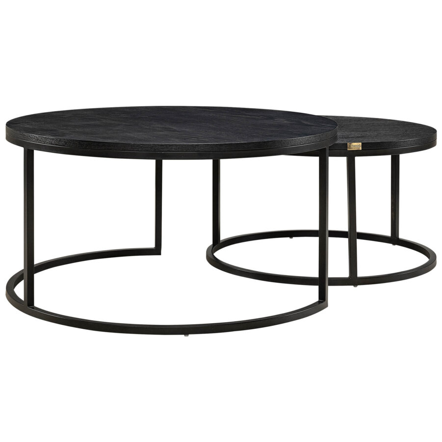 Masson soffbord 2-set från artwood svart