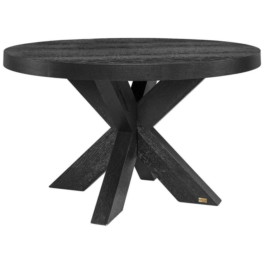Hunter matbord från artwood runt svart