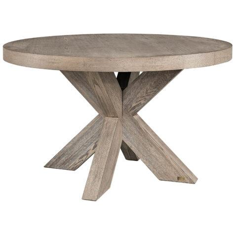 Hunter matbord från artwood runt antikgrå