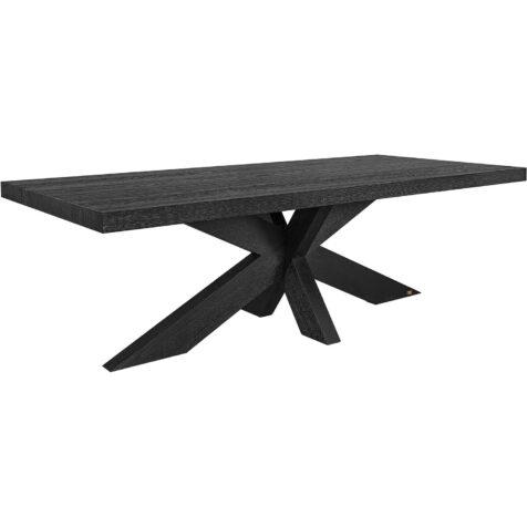 Hunter matbord från Artwood i svart ek.