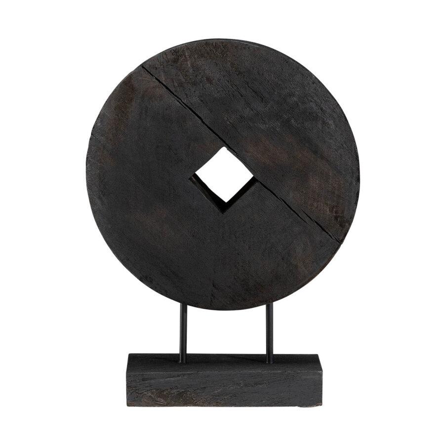 Troya dekoration i svart färg liten.