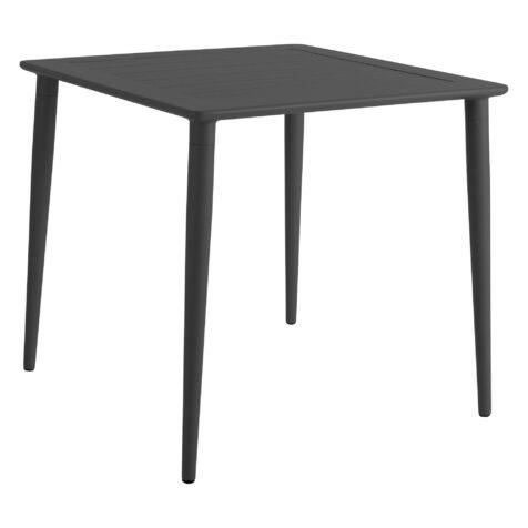 Nimes matbord fyrkantigt i antracitgrå.