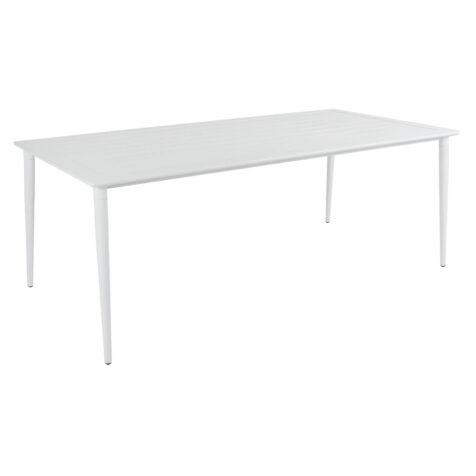 Brafab Nimes matbord 200x98 cm vit