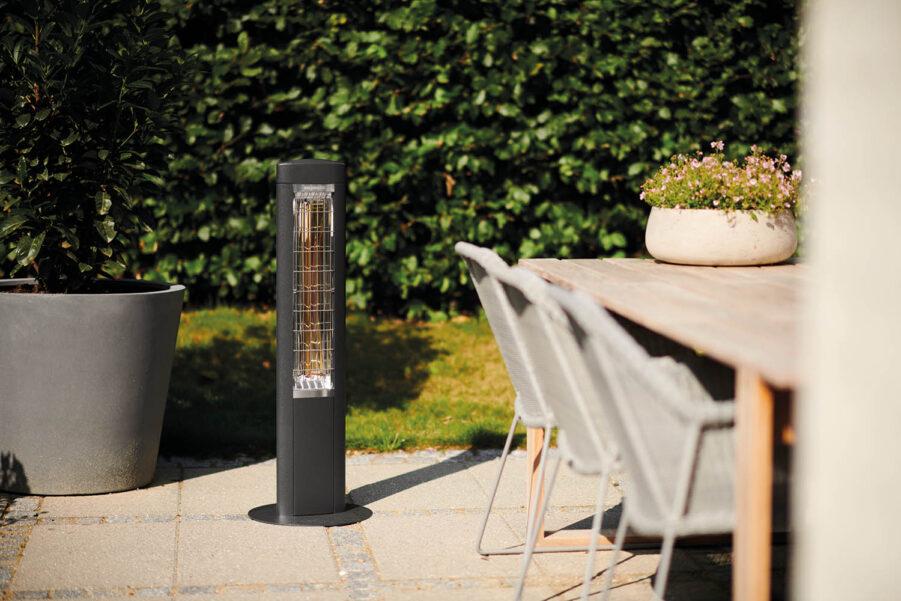 Miljöbild på Free värmelampa från Solamagic.