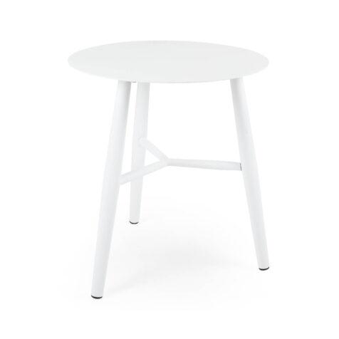 Brafab Vannes sidobord Ø45 cm vit