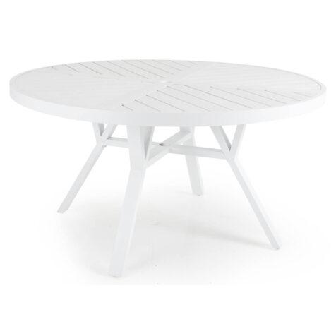 Brafab Sottenville runt matbord Ø140 cm vit