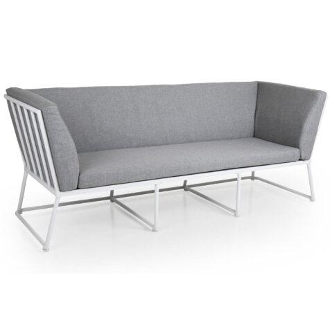 Brafab Vence 3-sits soffa vit/grå