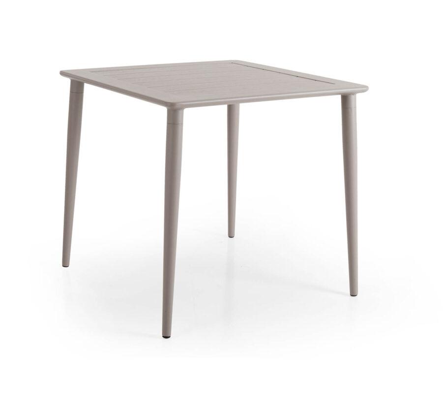 Brafab Nimes Matbord 78x78 cm khaki/grå