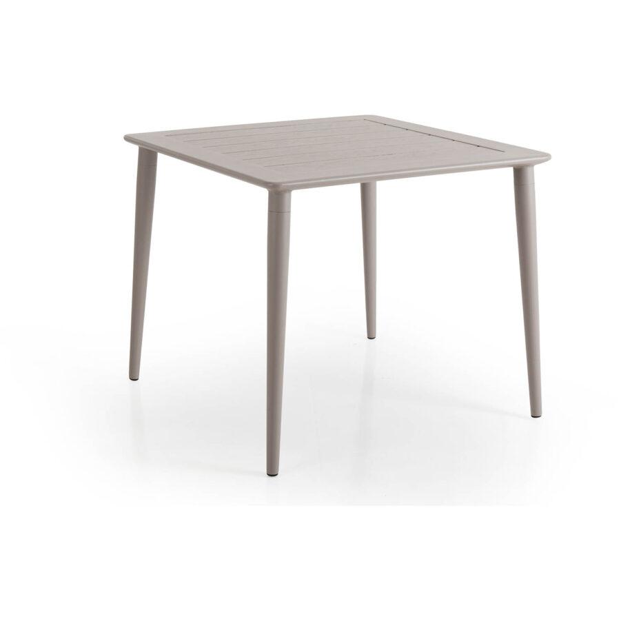 Brafab Nimes soffbord 78x78 cm khaki/grå
