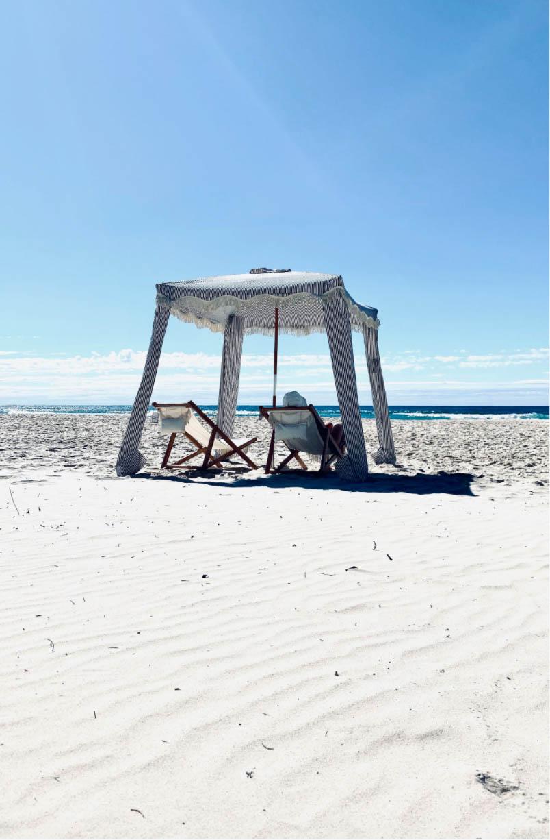 Miljöbild på Premium strandcabana.