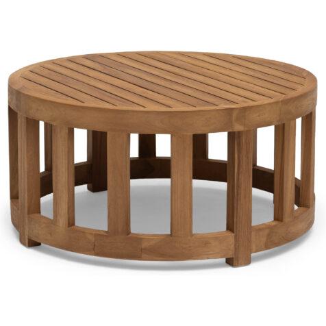 Hillerstorp Himmelsnäs bord Ø80 cm teak