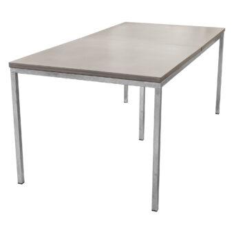 Matbord i betong mystic/galv 200x100 cm