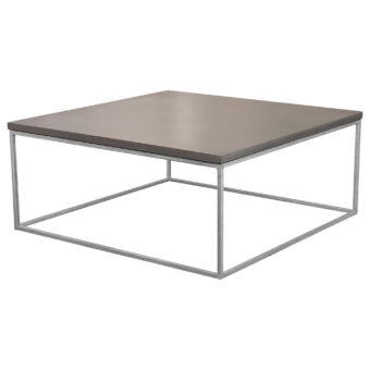 Soffbord i betong kub mystic black 100x100 cm